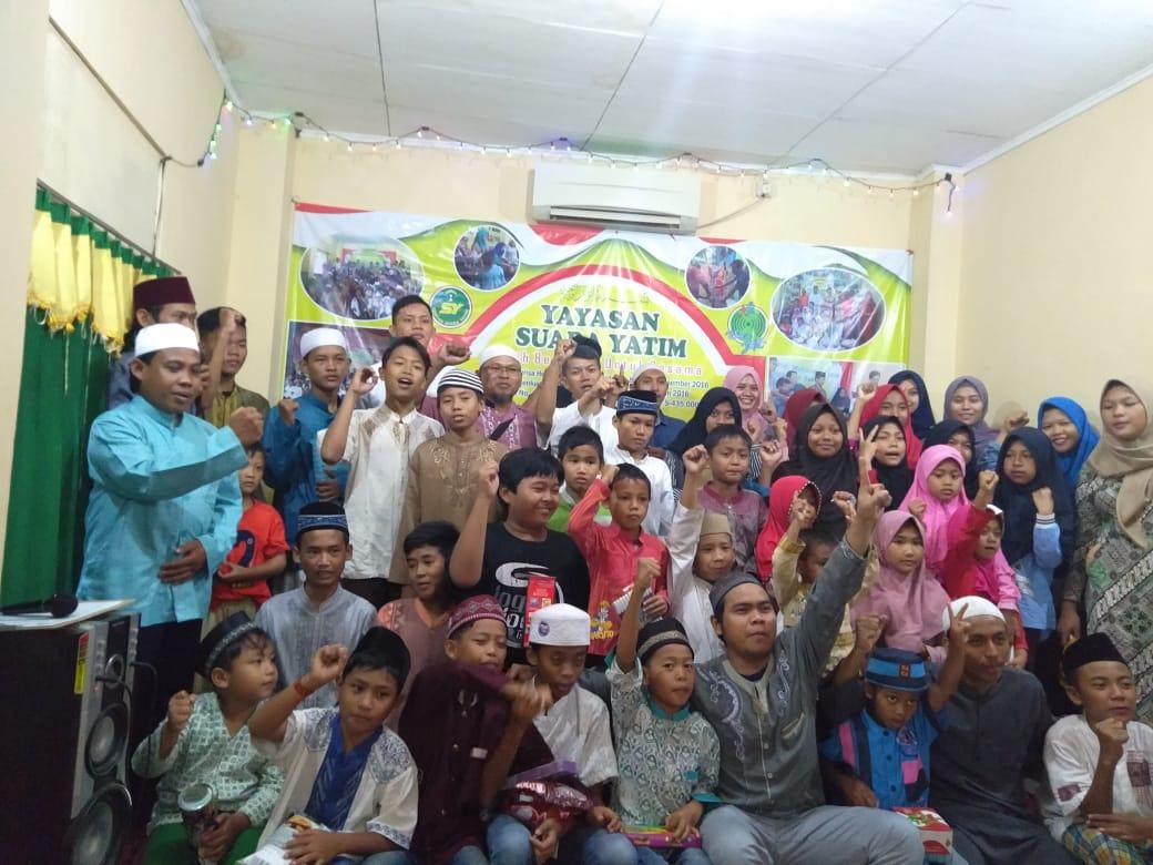 Pemerhati Yatim dari PT. Denso, Bersilaturahmi ke Yayasan Suara Yatim