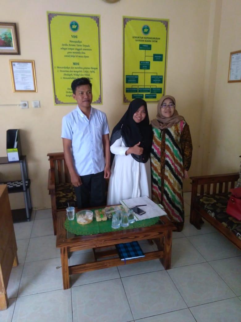 Kunjungan silaturahmi dari GM Radio Dakta – Bekasi