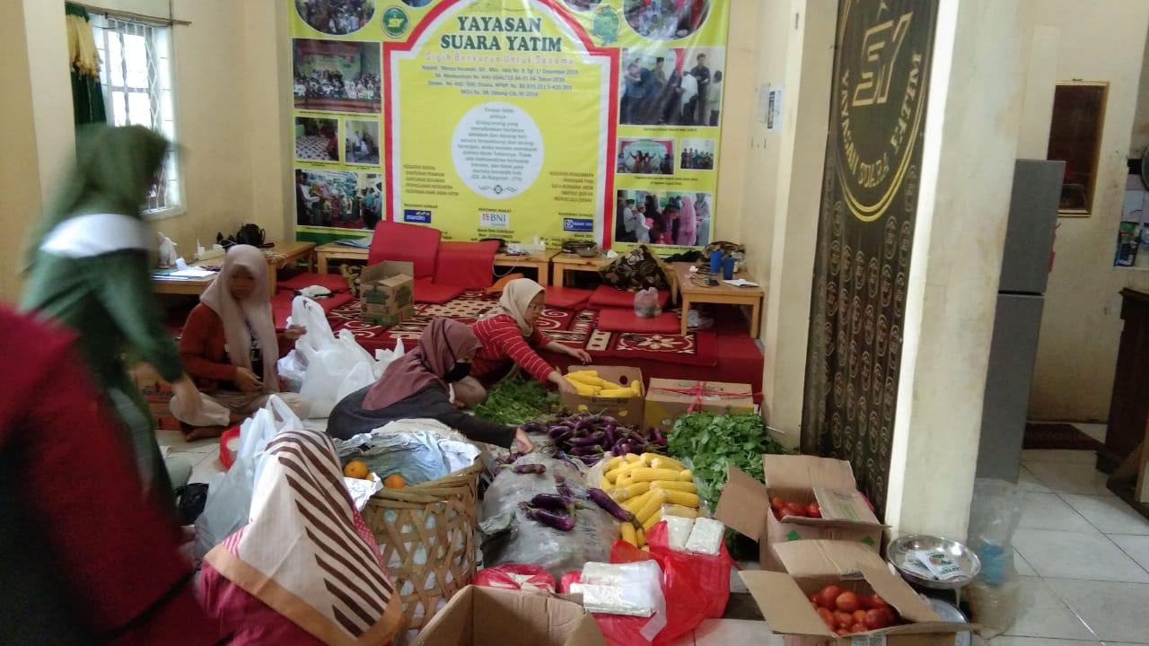 Santunan Sembako, Sayuran dan Buah ; September 2020