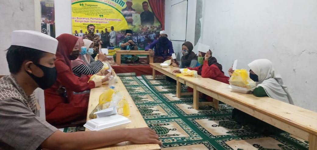 Kagiatan TPA anak-anak di Wisma Surya (Suara Yatim)